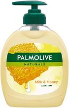 Palmolive Naturals Milk & Honey Nestesaippua 300Ml
