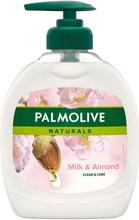 Palmolive Naturals Almond & Milk Nestesaippua 300Ml