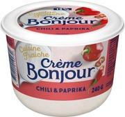 Crème Bonjour 240 g Cuisine Fraiche Chili & Paprika maustettu ranskankerma