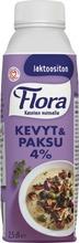 Flora Ruoka Kevyt & Paksu 4% laktoositon