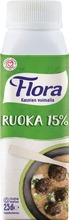 Flora Ruoka 15 %