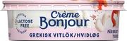 Crème Bonjour 100G Kreikkalainen Valkosipuli Tuorejuusto Laktoositon