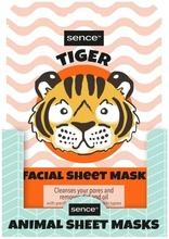Animal Facial Sheet Mask Tiger 25Ml