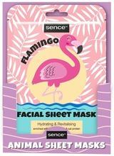 Animal Facial Sheet Mask Flamingo 25Ml
