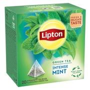Lipton 20Ps Green Mint Pyramidi Vihreä Tee