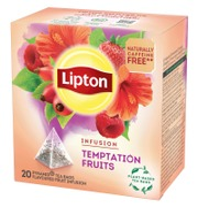 Lipton 20ps Temptation Fruits pyramidi yrttitee