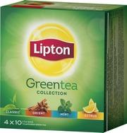 Lipton 40Ps Green Tea Collection Vihreä Tee Valikoimapakkaus