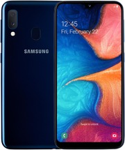 Samsung älypuhelin Galaxy A20e 32Gt sininen