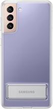 Samsung Suojakuori Clear Standing Cover S21+