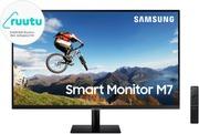 Samsung M7 Smart Näyttö 32Inch 16:9 3840X2160 Va 8Ms 60Hz Hdr10 Airplay2, 2Xhdmi Usb-C 65W
