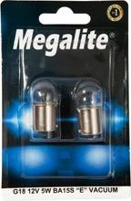 Megalite Autolamppu 12821 12V 5W 2Kpl