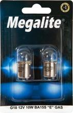 Megalite Autolamppu 12814 12V 10W 2Kpl