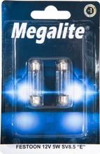 Megalite Autolamppu 12844 12V 5W  2Kpl