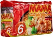 Mama 6-Pack Katkaravunmakuinen Nuudeli 6X60g