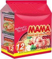 Mama 12-Pack Itämainen Katkaravunmakuinen Nuudeli 12X60g