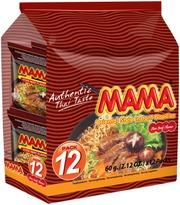 Mama 12-Pack Itämainen Naudanlihanmakuinen Nuudeli 12X60g