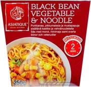 Asiatique Black Bean Vegetable & Noodle 250g