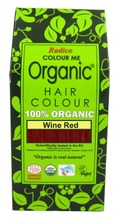 Radico 100G Hiusväri Viininpunainen Colour Me Organic