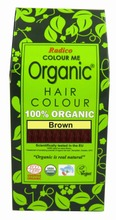 Radico Hiusväri Colour Me Organic Ruskea