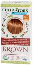 Cultivator's luomusertifioitu kasvihiusväri brown 100g