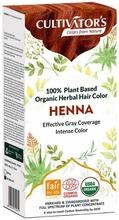Cultivator's Luomusertifioitu Kasvihiusväri Henna 100G