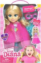 Love Diana Doll Mashup Princess/Superhero 33Cm Nukke