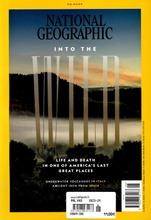 National Geographic (Eng/USA) aikakauslehti