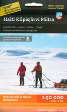 Halti Kilpisjärvi Pältsa -Retkeilykartta