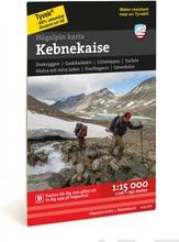 Kebnekaise  -Vuoristokartta