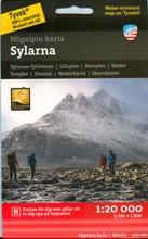 Sylarna -Vuoristokartta