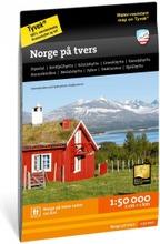 Norge På Tvers -Retkeilykartta