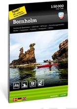 Bornholm-Retkeilykartta