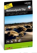 Nationalpark Thy -Retkeilykartta