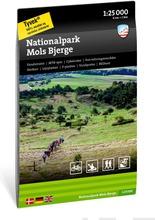 Nationalpark Mols Bjerge  -Retkeilykartta