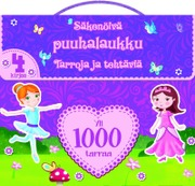 1000 Tarraa Säkenöivä Puuhasalkku