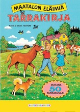 Satukustannus Maatalon Eläimiä Tarrakirja