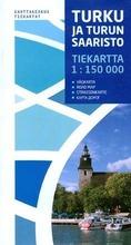 Turku Ja Turun Saaristo Tiekartta, 1:150 000