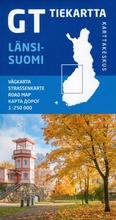 Karttakeskus Gt Tiekartta - Länsi-Suomi