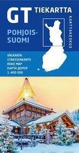 Karttakeskus Gt Tiekartta - Pohjois-Suomi