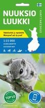 Ulkoilukartta Nuuksio Luukki kartta