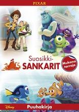 Disney Pixar Puuhakirja
