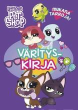 Littlest Pet Shop Värityskirja