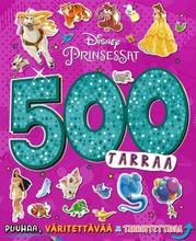 Disney Prinsessat 500 Tarraa -Puuhakirja