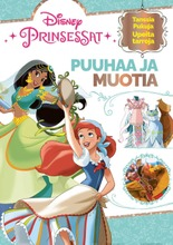 Disney Prinsessat Puuhaa Ja Muotia -Puuhakirja