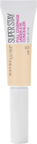 Maybelline New York Super Stay Full Coverage Under-Eye Concealer 15 Light -Peitevoide 6Ml