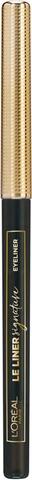 L'oréal Paris Le Liner Signature 01 Noir Cashmere Silmänrajauskynä 0,28G