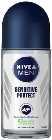 Nivea Men 50Ml Sensitive Protect Deo Roll-On -Antiperspirantti