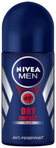 NIVEA MEN 25ml Dry Impact Deo Roll-on -antiperspirantti