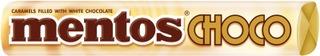 Mentos 38G White Choco Pastilli
