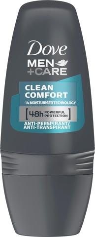 Dove Men+Care Roll-on Clean Comfort 50ml